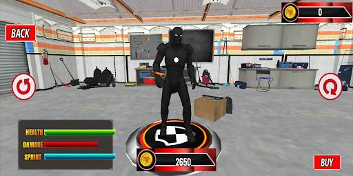 flying Super Iron Hero : Warrior of Crime City screenshots 1