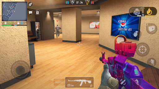 Code Triche Modern Ops - Jeux de Guerre (Online Shooter FPS) (Astuce) APK MOD screenshots 1