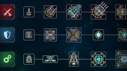 Space Arena: Spaceship game - Build & Fight android2mod screenshots 8