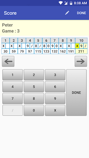 My Bowling Scoreboard android2mod screenshots 7