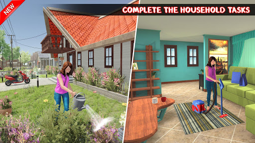 Home Chef Mom 2020 : Family Games screenshots 1
