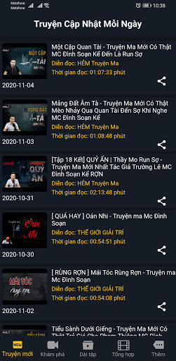 Truyu1ec7n Ma u0110u00eam Khuya  screenshots 1