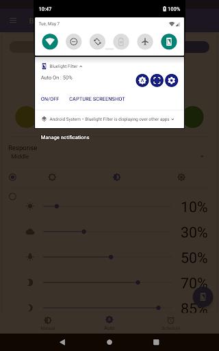 Bluelight Filter for Eye Care - Auto screen filter 3.7.1 Screenshots 12