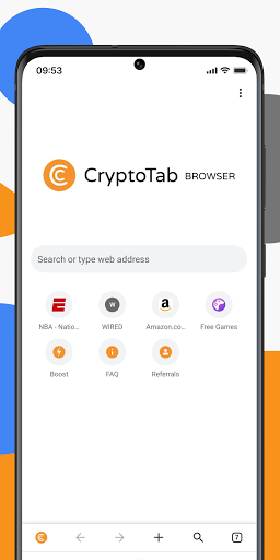 CryptoTab Lite — Get Bitcoin in your wallet