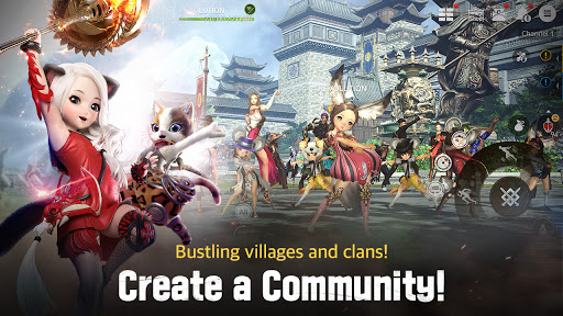 Blade&Soul: Revolution Varies with device screenshots 6
