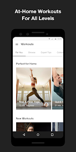 Nike Training Club - Home workouts & fitness plans Screenshot