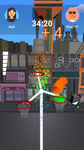Code Triche Infinity Basketball  APK MOD (Astuce) screenshots 1