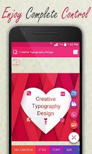 Creative Typography Design 3.9 Screenshots 4