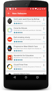 Wear OS Center - Android Wear Apps, Games & News Capture d'écran