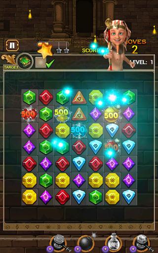 Jewel Ancient: find treasure in Pyramid 2.6.2 screenshots 24