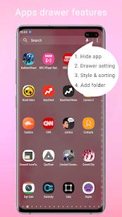 Super S10 Launcher for Galaxy S8/S9/S10/J launcher 3.6 Screenshots 2