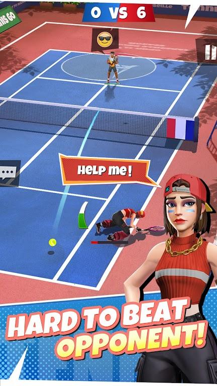 Tennis Go: World Tour 3D  poster 3