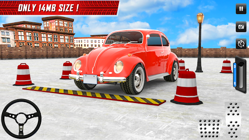 Classic Car Parking Real Driving Test apkpoly screenshots 6