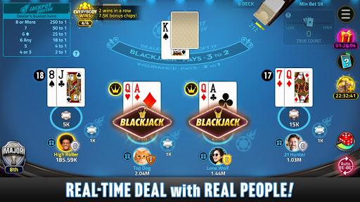 Blackjack 21 House Of Blackjack Apk Mod Unlimited Money 1 6 1 For Android Free Download