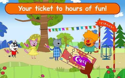 Kid-E-Cats Circus Games! Three Cats for Children  screenshots 15