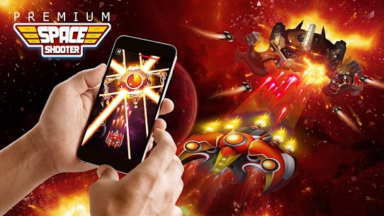 Space Shooter: Alien vs Galaxy Attack (Premium) Apk Mod + OBB/Data for Android. 8