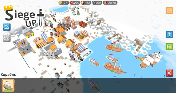 RTS Siege Up! MOD APK 1.1.74 (Free Shopping) 4