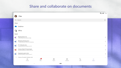 Microsoft Teams apktram screenshots 16