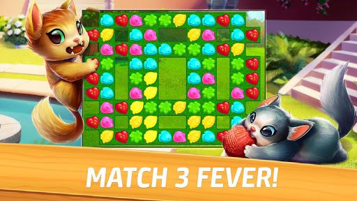 Meow Match: Cats Matching 3 Puzzle & Ball Blast Apkfinish screenshots 9