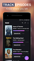 screenshot of Hobi: TV Series Tracker, Trakt Client For TV Shows