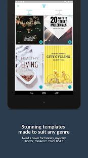 Book Cover Maker by Desygner for Wattpad & eBooks 4.4.3 Screenshots 11