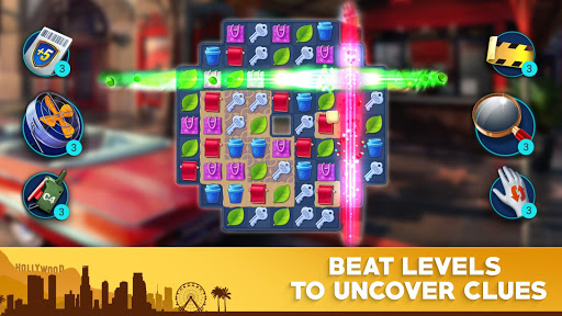 Crime Mysteriesu2122: Find objects & match 3 puzzle android2mod screenshots 6