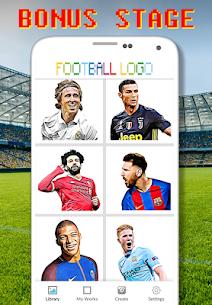 Football Logo Coloring By Number – Pixel Art Apk Son Sürüm 2021 4