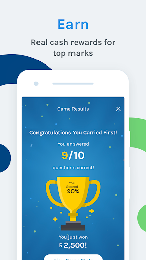 Carry1st Trivia: Play. Learn. Earn. 2.0.1558 screenshots 4