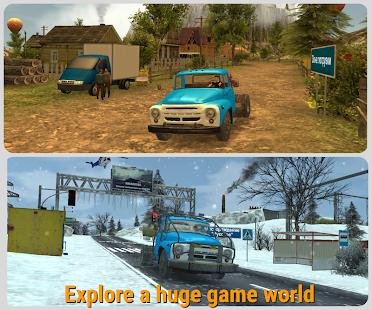 Russian Car Driver ZIL 130 1.1.5 Screenshots 2