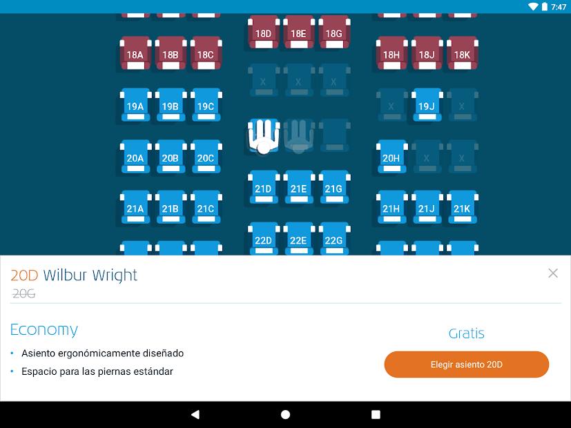 Screenshot 12 de KLM - Royal Dutch Airlines para android