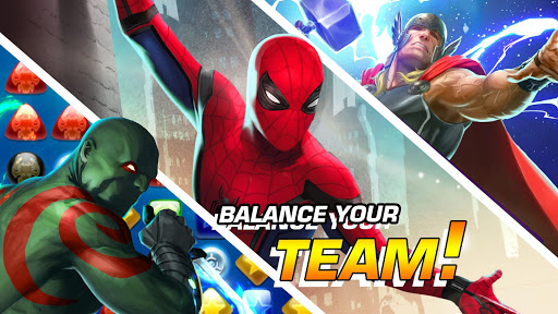 MARVEL Puzzle Quest: Join the Super Hero Battle! screenshots 18