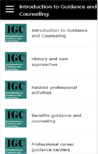 Introduction to Guidance and Counselling  screenshots 1