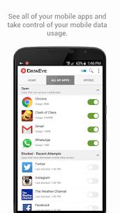 تحميل DataEye   Save Mobile Data apk 3