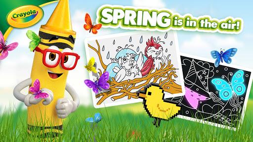 Crayola Create & Play: Coloring & Learning Games  screenshots 1