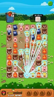 LINE ポコポコ - うさぎのポコタとクローバーやチェリーを集めろ!ダンジョンでも遊べる無料パズルのおすすめ画像2