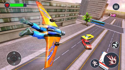 Flying Jetpack Hero Crime 3D Fighter Simulator  screenshots 2
