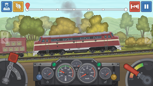 Train Simulator - 2D Railroad Game 0.1.81 screenshots 3