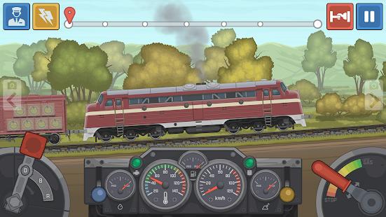 Train Simulator mod apk