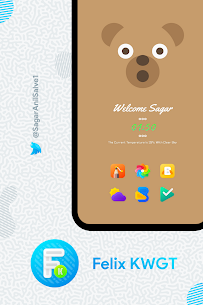 Felix KWGT v9.0.0 [Paid] APK is Here ! [Latest] 5