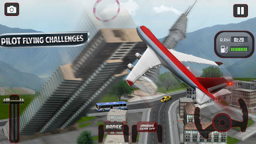 Flying Plane Flight Simulator 3D - Airplane Games modavailable screenshots 4
