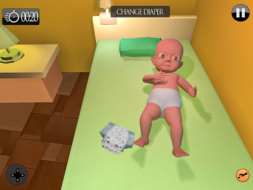 The Baby in dark yellow House chapter 2 hack tool