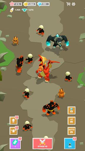 Merge Monster Evolution:  Summon & Merge RPG 1.0.16 screenshots 2