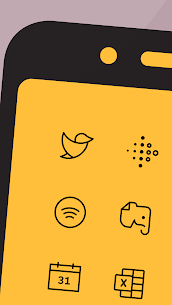Phosphor Carbon Icon Pack 1.6.4 MOD for Android 3