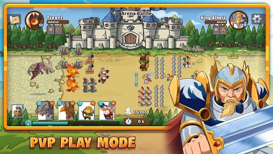 Mega War Mod Apk- lash of Legions (Unlimited Gold) 7