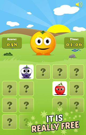 Mem Fruits: find pairs, concentration  screenshots 7