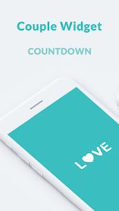 Couple Widget – Love Events Countdown Widget 1