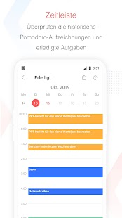Focus To-Do:Pomodoro-Timer & Aufgabenmanagement Screenshot