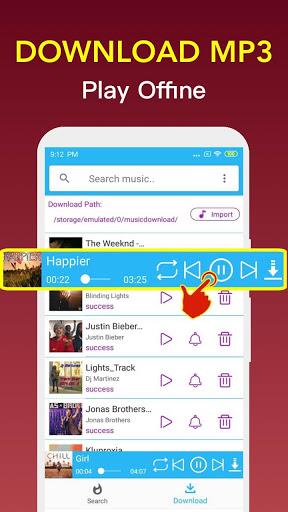 Free Music Downloader - Mp3 Music Download  screenshots 3