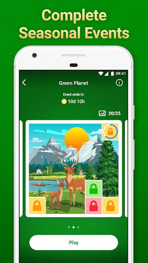 Solitaire Klondike: card games Apkfinish screenshots 3