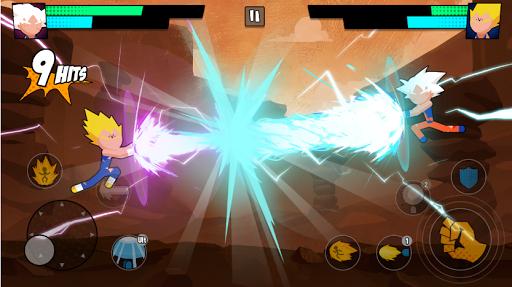 Super Dragon Stickman Battle - Warriors Fight 1.1.0 screenshots 1